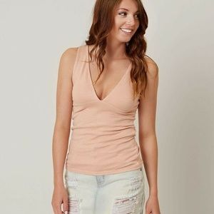 We The Free People Monday Deep V Neck Tank